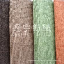 Tela de Chenille poliester decorada para textiles para el hogar