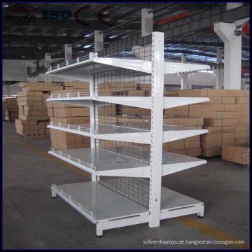 Supermarkt-Gestell-Gondel-Fach-Lebensmittelgeschäft-Regale für Verkauf