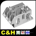 Micro précision en aluminium / acier / laiton / cuivre / plastique / titane CNC usinage pour machines automatiques