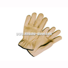 Cow Grain Leather Unlined Driver Work Glove-9001