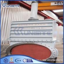 Vanne de porte en acier moulé haute pression personnalisée (USC10-016)