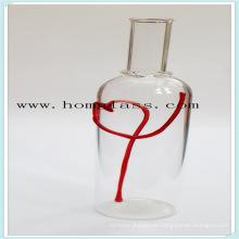 Glas Weinflasche / Schnaps Glasflasche / Schnapsflasche / Rollen / Apothekerglas