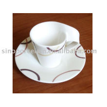 unique porcelain coffee set for BS09028