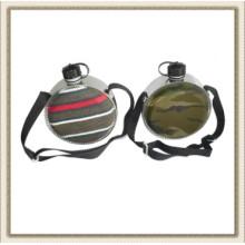 Plastique rond eau cantine, cantine plastique ronde désert (CL2C-KP400)
