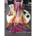 New 2016 High Quality Printed Silk Spring Scarf Wholesale