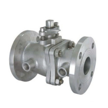 Two Pieces Flanged Jacket Ball Valve (GABQ41F)