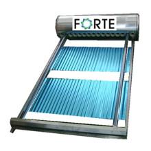 Collecteur d'eau solaire de pression de caloduc