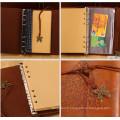 Artisanat en cuir d'imitation délicat et de qualité supérieure Cadeaux parfaits Journal, agenda, cahier, livre d'or, raboteuse, agenda avec sangle