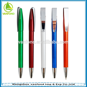 Hochwertiger Kunststoff Sprühfarbe Kugelschreiber mit Metallclip