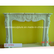 Natural Stone European Style Marble Fireplace (SY-MF147)