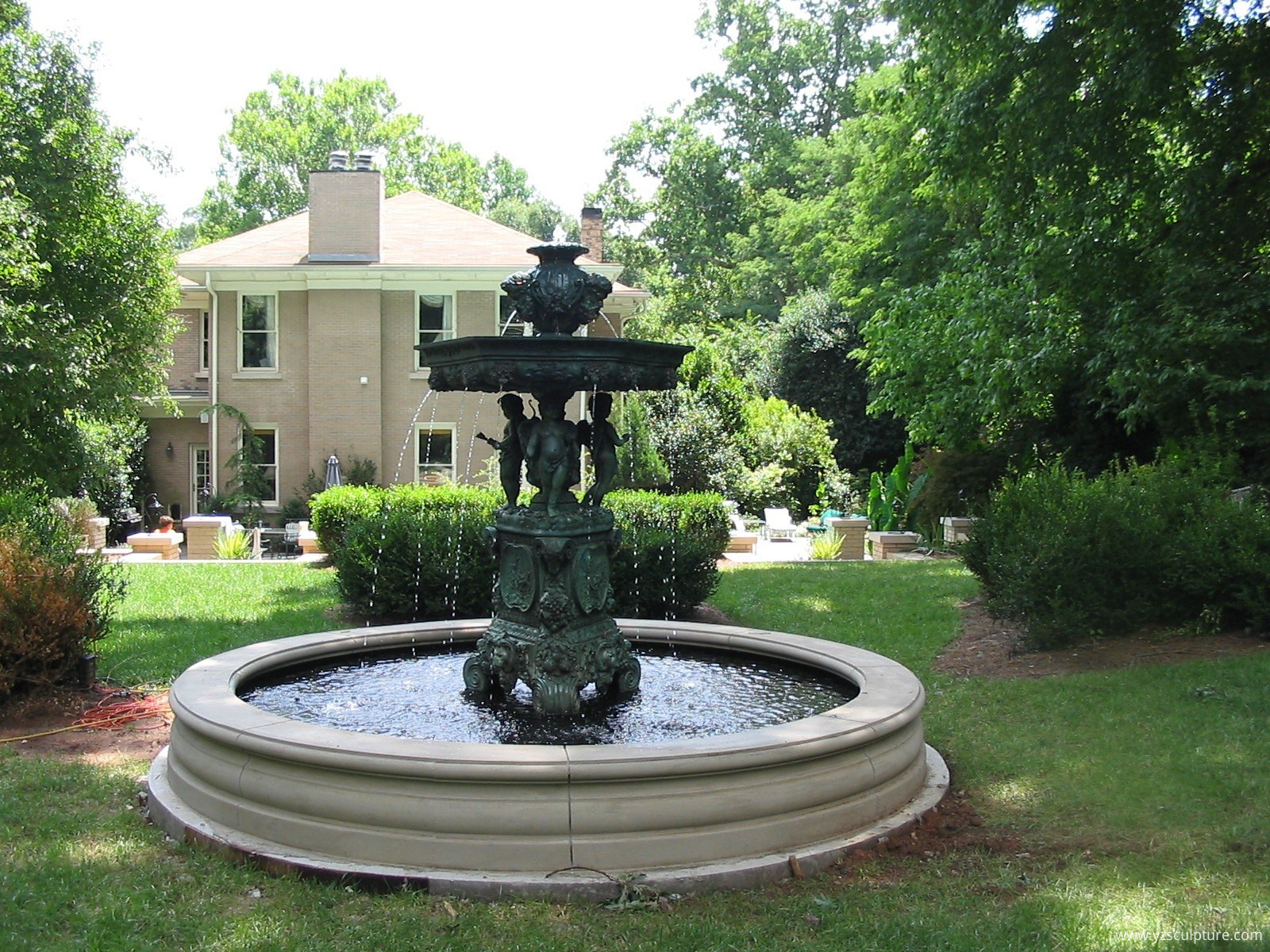 Bronze Garden Fountains