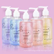 Wholesale Private Label Exfoliating Organic Bodywash Whitening Lightening Bath Shower Gel Natural Vegan Fruit Scrub Body Wash