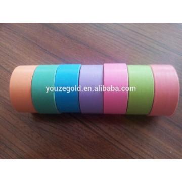 Fita de papel floral adesiva Kraft