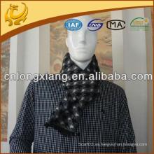 El último diseño 100% poliéster de seda Feel Scarf cepillado invierno cálido poliéster bufanda para los hombres
