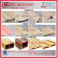 Eco-friendly Wood plastic composite WPC decking,floor,wall panel production line