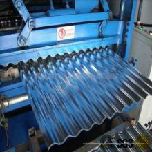 Máquina para fabricar láminas sinusoidales