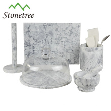 Vaisselle de cuisine en marbre naturel de qualité supérieure