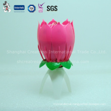 Factory Supplies Singing Blooming Candle