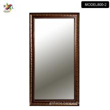black shower bathroom smart mirror with glass shelf wholesale