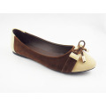 New Style Women′s Dress Flat Shoes (HCY03-122)