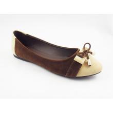 Zapatos planos del vestido de las nuevas mujeres del estilo (HCY03-122)