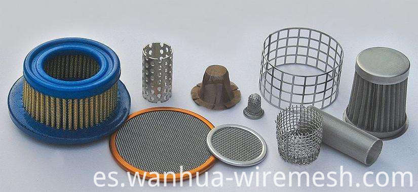 filter screen equipment for particle