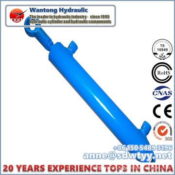Cilindro hidráulico de ação dupla para máquinas de engenharia