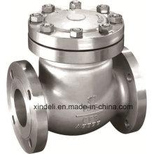 Válvula de retención de colada soldada con extremos BW / RF de acero fundido