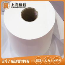 Tela no tejida del algodón 100% para la toalla de baño