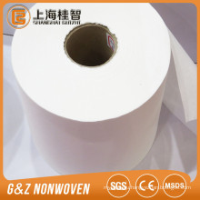 hand and face cleaning wet tissue paper raw material spunlace nonwoven fabric
