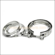 UNIVERSAL 3`` EXHAUST STAINLESS STEEL V-BAND CLAMP AND FLANGE KIT V BAND DOWNPIPE