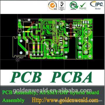 PCB layout design and PCBA Assembly Electronics PCBA Manufacturer PCB assembly plant