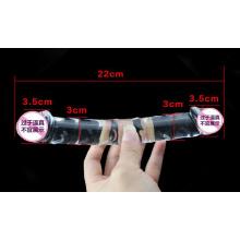 Injo Glass Dildo Sex Toy for Women Ij-S10026