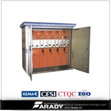Subestação do pacote de caixas de transformadores de saída de frequência de energia