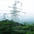 Torre de transmisión de potencia de acero de 220 Kv