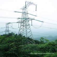 220kv Single Circuit Iron Power Transmission Tower