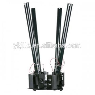 Fifteen head electric confetti tube/party popper/conetti cannon launcher/shooter