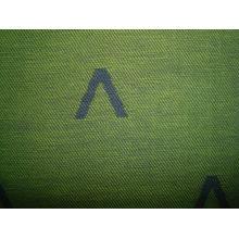 Tissu jacquard teint en fil de coton