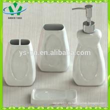Conjunto de accesorios de baño de alta calidad, conjunto de baño de cerámica multicolor