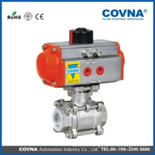 Hot selling pneumatic actuator globe valve with low price