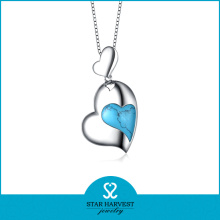 Heart Shape Wholesale Charm Jewelry Necklace (N-0181)