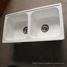 Resistente à prova de água de luxo à prova de produtos químicos de alta temperatura única e moderna cozinha pias
