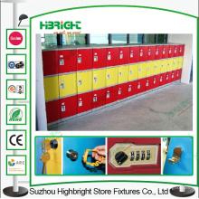 Casiers en plastique d'ABS de Cabinet de stockage pour l'école
