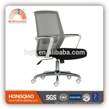 CM-B212BSW-1 apoyabrazos de nylon base trasera de cromo con buena silla de oficina de precio