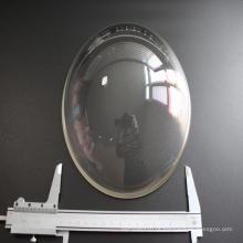 Lente cúpula de vidro ótica BK7 para fotografia