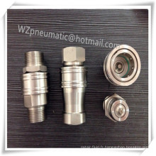 Raccords pneumatiques en acier inoxydable 20p1a / 20s2a