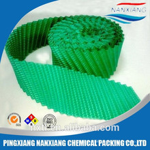 Double Inclined 1000*500 PVC cooling tower fills cooling tower filling