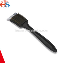 Long Handle Copper Wire BBQ Grill Cleaning Brush