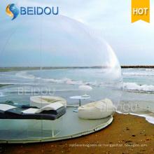 Outdoor Camping Igloo Aufblasbare Clear Zelt Aufblasbare Transparente Blase Zelt