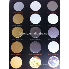 Impresión de aluminio de la hoja de la sublimación de la alta definición por la impresora Grueso: 0.45mm-0.65mm Color: blanco, plata, oro,